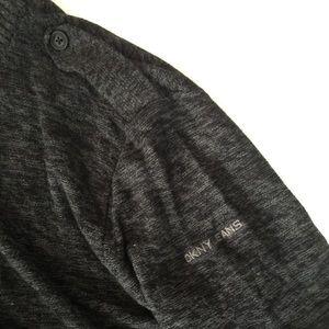 Dkny Sweaters - DKNY Military Style Zip Cardigan Sweater
